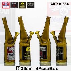 Szklane bongo Beer Bottle -...